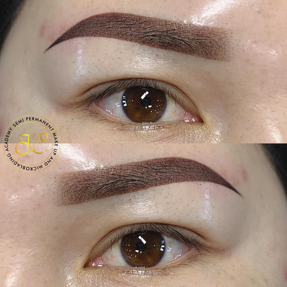 Sharp Ombré Eyebrows by TriVinhLy - TVL PMU -(ATSP)-softbrows level 2